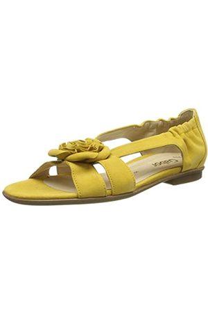 Gabor Gabor Shoes Damen Fashion Riemchensandalen, Gelb (Sun 10)