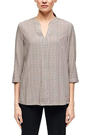 s.Oliver S.Oliver BLACK LABEL Damen Bluse mit modischem Allover-Print 36