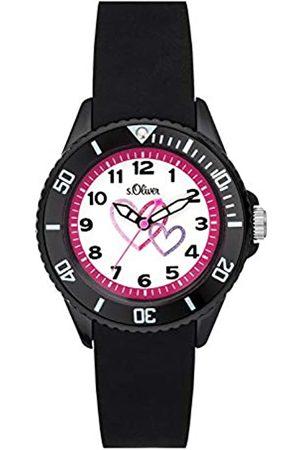 s.Oliver S.Oliver Time Kinder Analog Quarz Uhr mit Silikon Armband