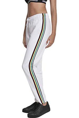 Urban classics Urban Classics Damen Shorts Ladies Multicolor Side Taped Track Pants, Weiß