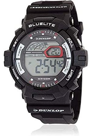 Dunlop DunlopUnisexErwachseneDigitalQuarzUhrmitGummiArmbandDUN212G01