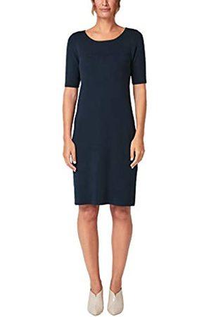 s.Oliver S.Oliver BLACK LABEL Damen Strickkleid mit Struktur-Detail dark blue 38