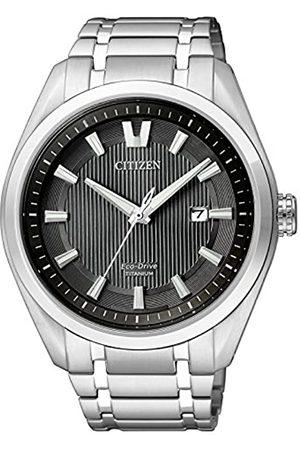 Citizen Citizen Herren Analog Quarz Uhr mit Titan Armband AW1240-57E