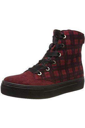 Legero Legero Damen Lima Hohe Sneaker, Rot (Amarone (Rot) 59)