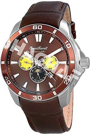 Engelhardt Engelhardt Herren Analog Mechanik Uhr mit Leder Armband 387727029017