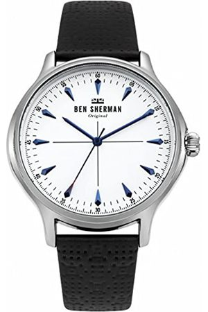 Ben Sherman Ben Sherman Herren Datum klassisch Quarz Uhr mit Leder Armband WB018S