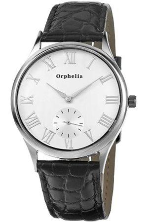 ORPHELIA Orphelia Herren-Armbanduhr Standard Analog Quarz Leder