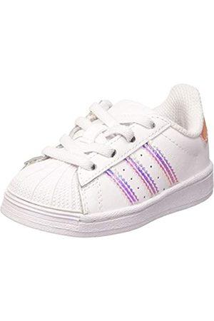 adidas Adidas Unisex-Kinder Superstar EL I Sneaker, FTWR White/FTWR White/FTWR White
