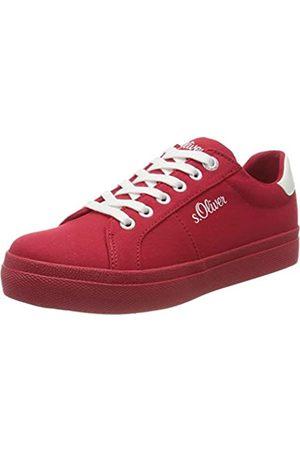s.Oliver S.Oliver Damen 5-5-23621-24 Sneaker, Rot (RED 500)