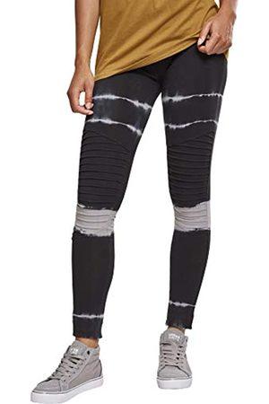 Urban classics Urban Classics Damen Ladies Striped Tie Dye Biker Leggings