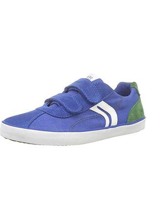 Geox Geox Jungen J Kilwi Boy I Sneaker, Blau (Royal/Green C4165)