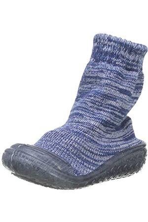 Playshoes Jungen Unisex Kinder Socke gestrickt Hohe Hausschuhe, (Marine 11)