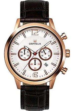 ORPHELIA Orphelia HerrenArmbanduhr Chronograph Quarz Leder OR81804