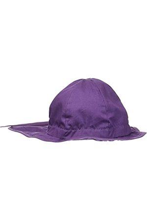Melton Melton Baby-Mädchen Sonnenhut mit Nackenschutz UV 30+, Uni Kappe