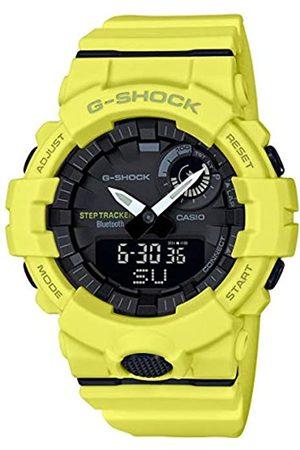 Casio CASIO Herren Analog-Digital Quarz Uhr mit Harz Armband GBA-800-9AER