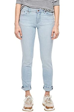 s.Oliver S.Oliver RED Label Damen Slim Fit: Jeans mit Heller Waschung 46.32