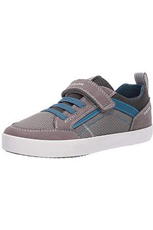 Geox Geox Jungen J Kilwi Boy E Sneaker, Grau (Grey/Petrol C0386)