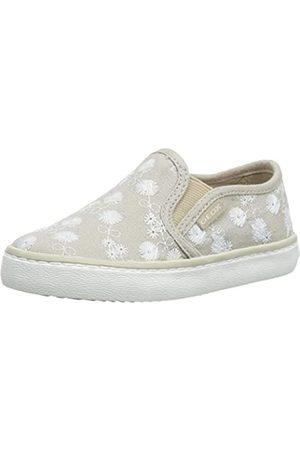 Geox Geox Mädchen J Kilwi Girl D Slip On Sneaker, Beige (Beige C5000)