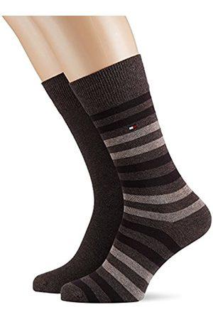 Tommy Hilfiger Herren TH MEN DUO STRIPE 2P Socken