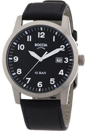Boccia Boccia Herren-Armbanduhr Leder 3631-01