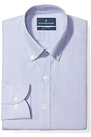 Buttoned Down Buttoned Down Slim Fit Button Collar Pattern Smoking Hemd, pink/blue geo