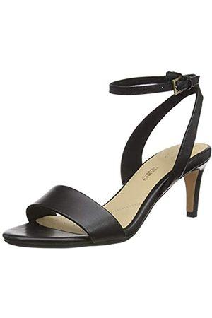Clarks Damen Amali Jewel RiemchenPumps Knöchelriemchen, (Black Leather Black Leather)
