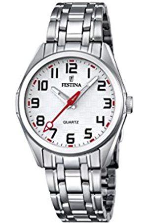 Festina Festina Unisex Analog Quarz Uhr mit Edelstahl Armband F16903/1