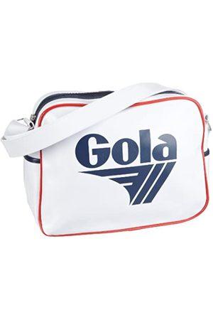 Gola Gola Redford CUB901 Unisex - Erwachsene Henkeltaschen, Weiss (White/Navy/Red)