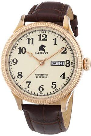 Carucci Carucci Watches Herren-Armbanduhr XL Analog Automatik Edelstahl CA2209RG