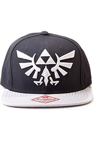 ZELDA Nintendo Mütze - Zelda schwarz mit Grau-Logo