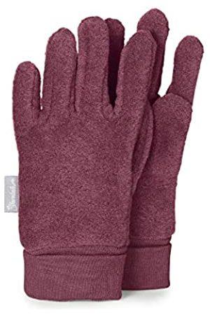 Sterntaler Fleece-Fingerhandschuhe mit elastischem Umschlag, Alter: 10-11 Jahre, Größe: 6