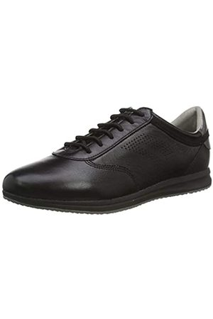 Geox Geox Damen D Avery C Sneaker, Schwarz (Black C9999)