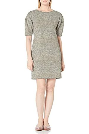 Daily Ritual Daily Ritual Terry Cotton and Modal Pleated-Sleeve Sweatshirt Dresses