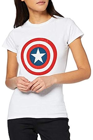 Marvel Marvel Damen Avengers Captain America Distressed Shield