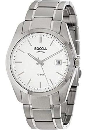 Boccia Boccia Herren Digital Quarz Uhr mit Titan Armband 3608-03