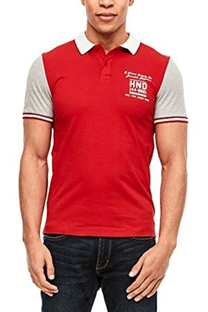 s.Oliver S.Oliver Label Herren Poloshirt in Colourblock-Optik L