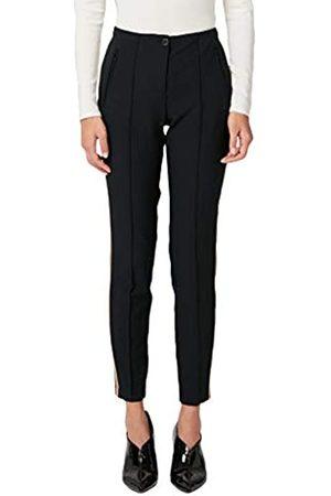 s.Oliver S.Oliver BLACK LABEL Damen Slim Fit: Skinny ankle leg-Hose aus elastischer Qualität black 36