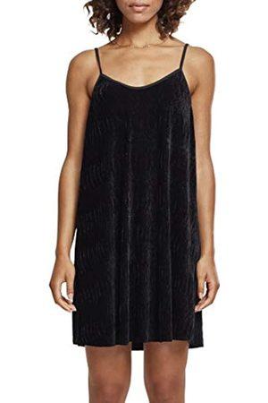 Urban classics Urban Classics Damen Kleid Ladies Velvet Slip Dress