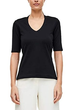 s.Oliver S.Oliver BLACK LABEL Damen Jerseyshirt mit halblangem Arm 42