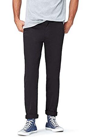 FIND Find. Hose Herren Chino mit geradem Bein, Schlitztaschen und einer Gesäßtasche