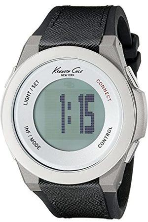 Kenneth Cole Kenneth Cole Unisex Erwachsene Digital Uhr mit Stoff Armband 10023867