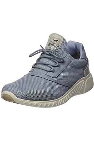 MUSTANG Damen 1315-301-832 Sneaker, (Pastellblau 832)