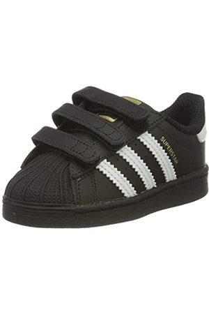 adidas Adidas Unisex-Kinder Superstar Cf I Sneaker, Core Schwarz/ Ftwr Weiß/ Core Schwarz