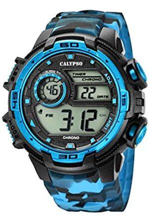 Calypso CalypsoHerrenDigitalQuarzUhrmitPlastikArmbandK5723/4