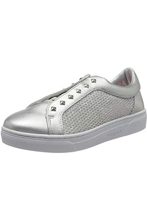 Bugatti Bugatti Damen 431877605069 Sneaker, Silber (Silver/Metallic 1390)