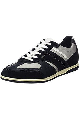 Geox Geox Herren U Renan A Sneaker, Blau (Navy/Lt Grey)