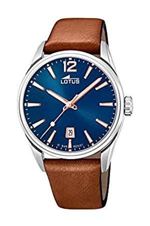 Lotus Lotus Herren Analog Quarz Uhr mit Leder Armband 18693/2