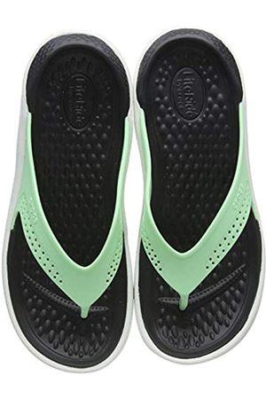 Crocs Crocs Unisex-Erwachsene Literide Flip Zehentrenner, Grün (Neo Mint/Almost White 3tp)