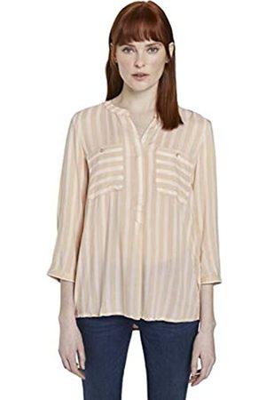 TOM TAILOR TOM TAILOR Damen Blusen, Shirts & Hemden Gestreifte Bluse mit Taschen
