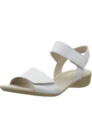 Gabor Gabor Shoes Damen Casual Riemchensandalen, Weiß (Weiss 21)